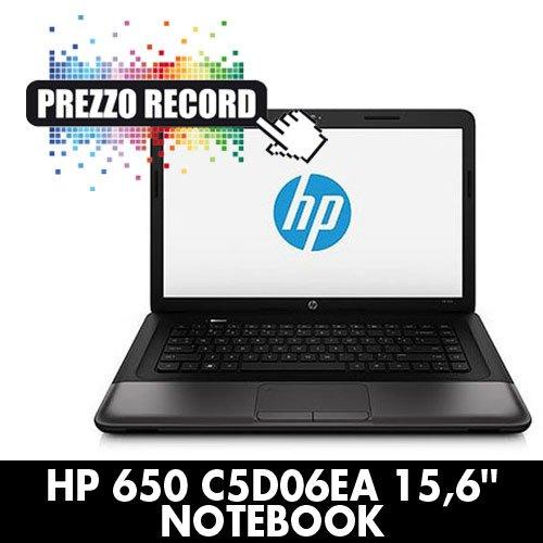 Analisi e Caratteristiche HP 650 PC portatile con linux preinstallato