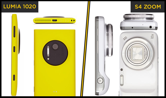 nokia lumia 1020 vs samsung galaxy s4 zoom