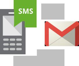 Come ricevere SMS quando arriva una Email senza usare sincronizzazione