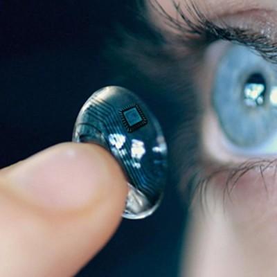 Le nuove lenti a contatto elettroniche iOptik ci rendono quasi cyborg