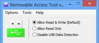 Analisi Removable Access Tool, ottimo programma gestire porte USB