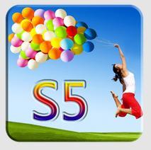 Nuovo tema Samsung Galaxy S5 pacchetto icone disponibili su Google Play