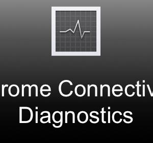 Controllare stato internet no stop con Chrome Connectivity Diagnostics