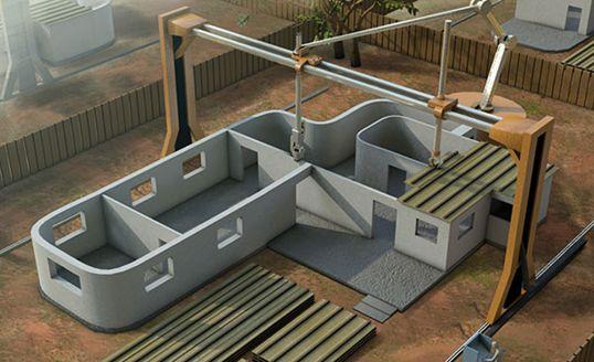Case costruite con stampanti 3d da cina e usa i primi modelli for Prime case in nuova inghilterra