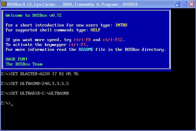 Emulare giochi MS-DOS con DOSBox, il ritorno del retrogaming