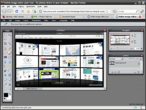 Come editare immagini online con Pixlr