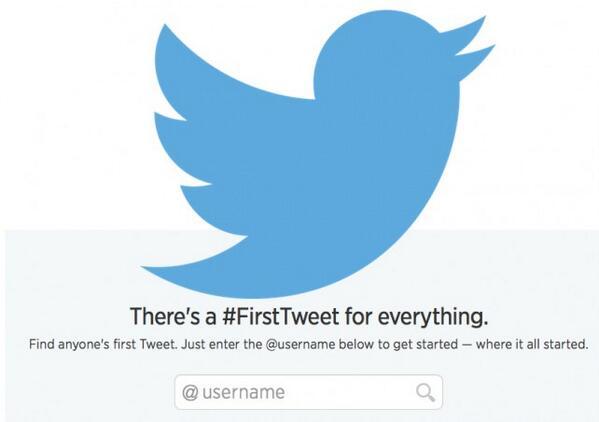Twitter festeggia otto anni di storia con #FirstTweets