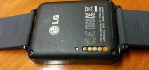 LG G Smartwatch aggiornamento firmware contro irritazioni pelle