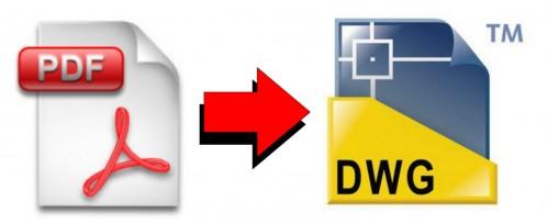 Il migliore sito online per convertire PDF in DWG gratis