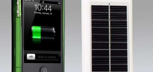 Microsoft, ricarica solare per smartphone