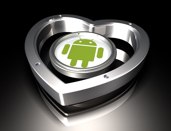 android-cuore