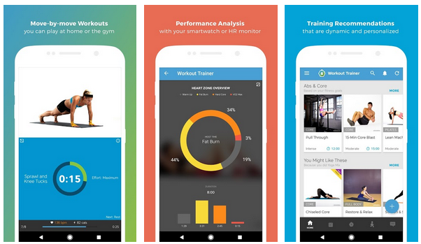 Personal Trainer: workout app!